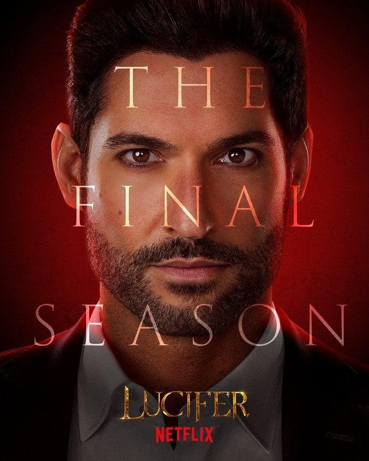 Lucifer Final Season 6 Character Posters Tom Ellis Lucifer
