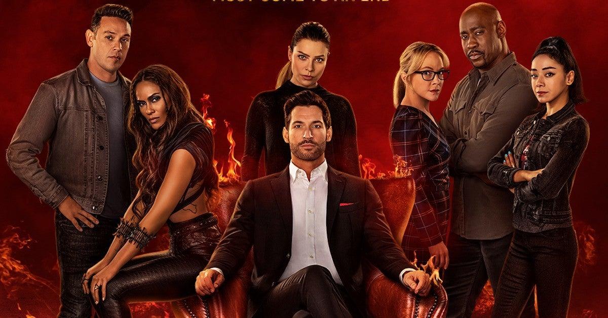Lucifer Season 6 Poster Netflix