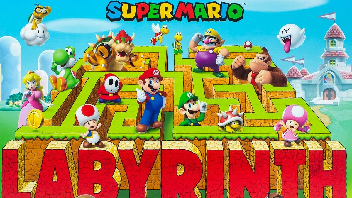 mario labyrinth hed