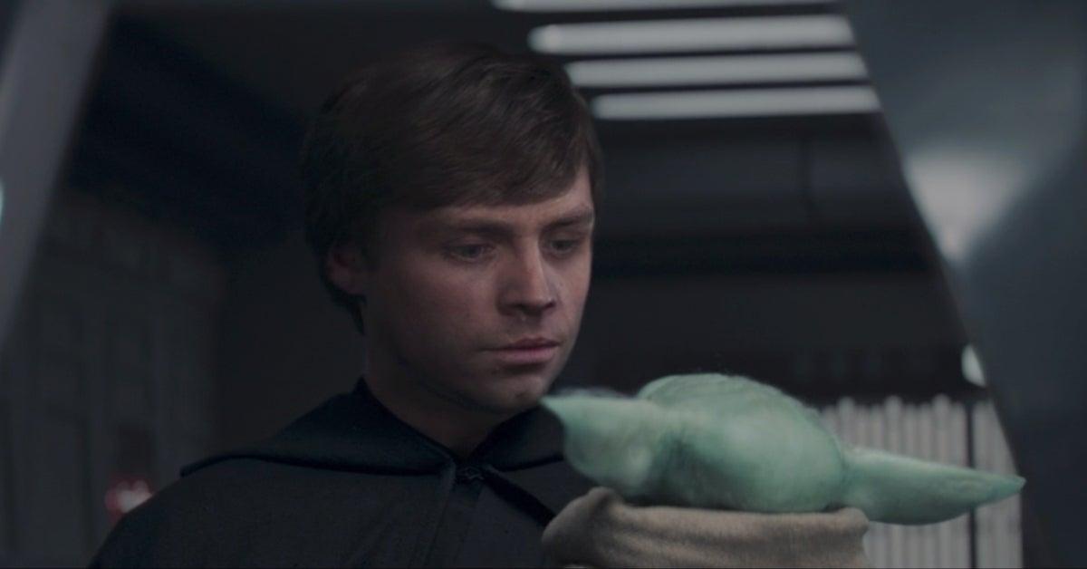 Mark Hamill Luke Skywalker The Mandalorian Season 2 Finale