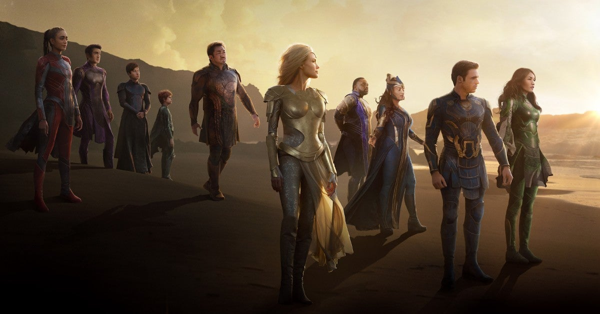 Marvel Eternals Final Poster Trailer