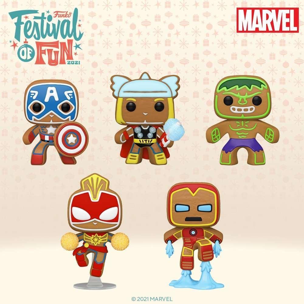marvel-gingerbread-funko-pops