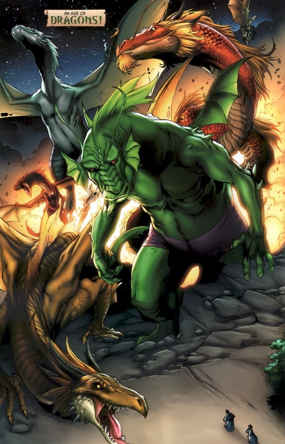 Marvel Makluans dragons