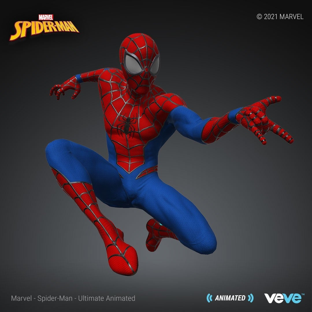 Marvel Official Spider Man NFT Web Shooters