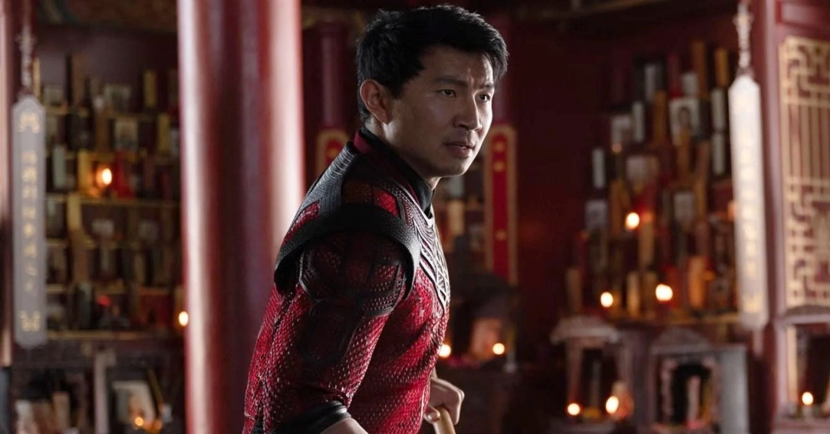 Marvel's Shang-Chi and the Legend of the Ten Rings Simu Liu