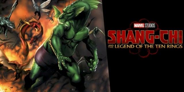 Marvel's Shang-Chi dragons