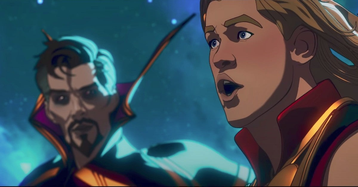 Marvel What IF Releases Mind Bending Promo Trailer Thor Doctor Strange