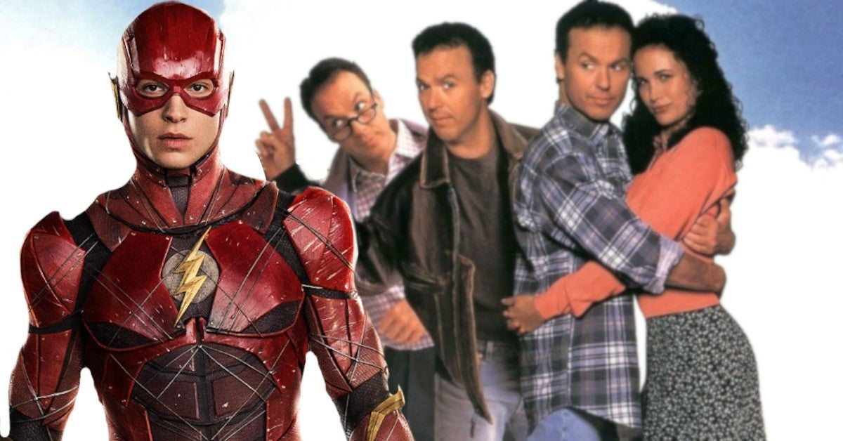 Michael Keaton Compares New DC Movie To 90s Comedy