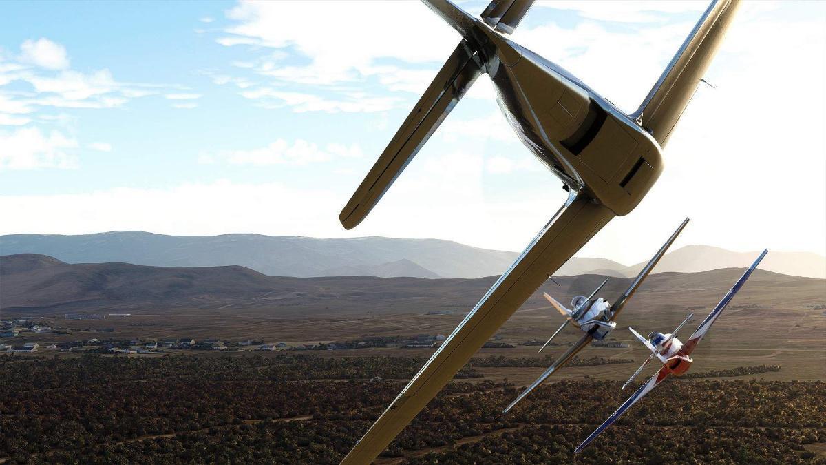 Microsoft Flight Simulator Air Race
