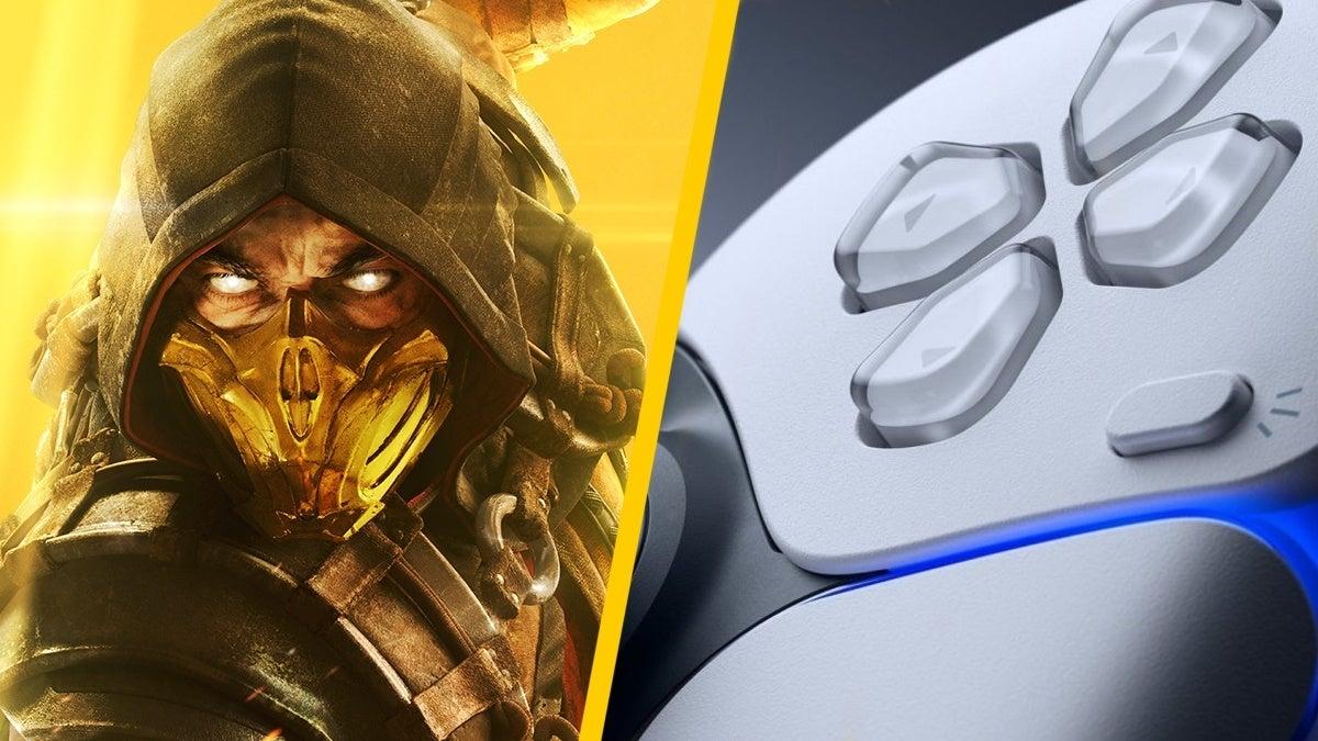Mortal Kombat PS5 Controller