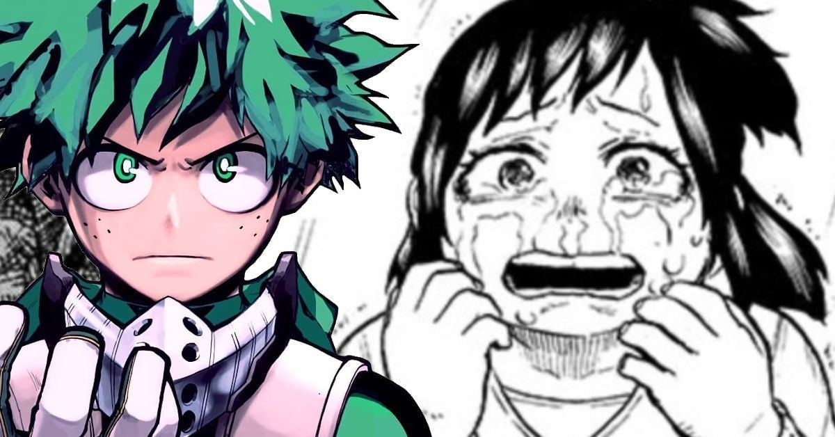 My Hero Academia Izuku Mom Inko Reunion Déchirante Crying Manga Spoilers