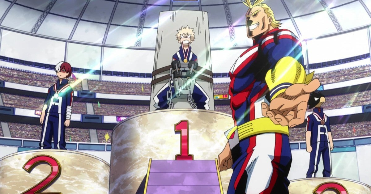 My Hero Academia Music Olympic Video Spain TV Channel