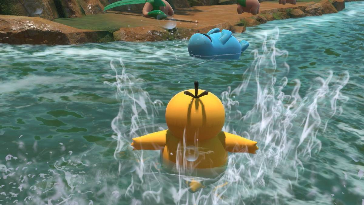 New Pokemon Snap Psyduck