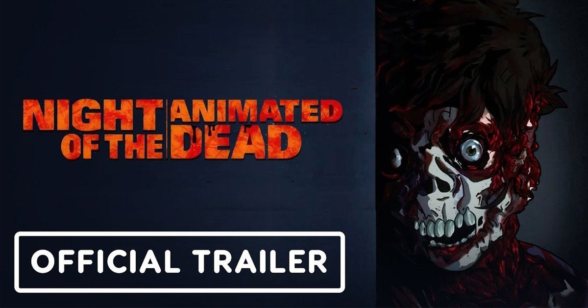night of the living dead animated remake trailer