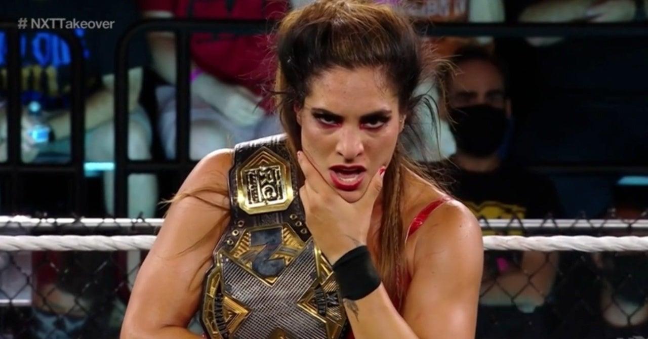 NXT's Raquel Gonzalez Retains NXT Women's Championship at TakeOver 36
