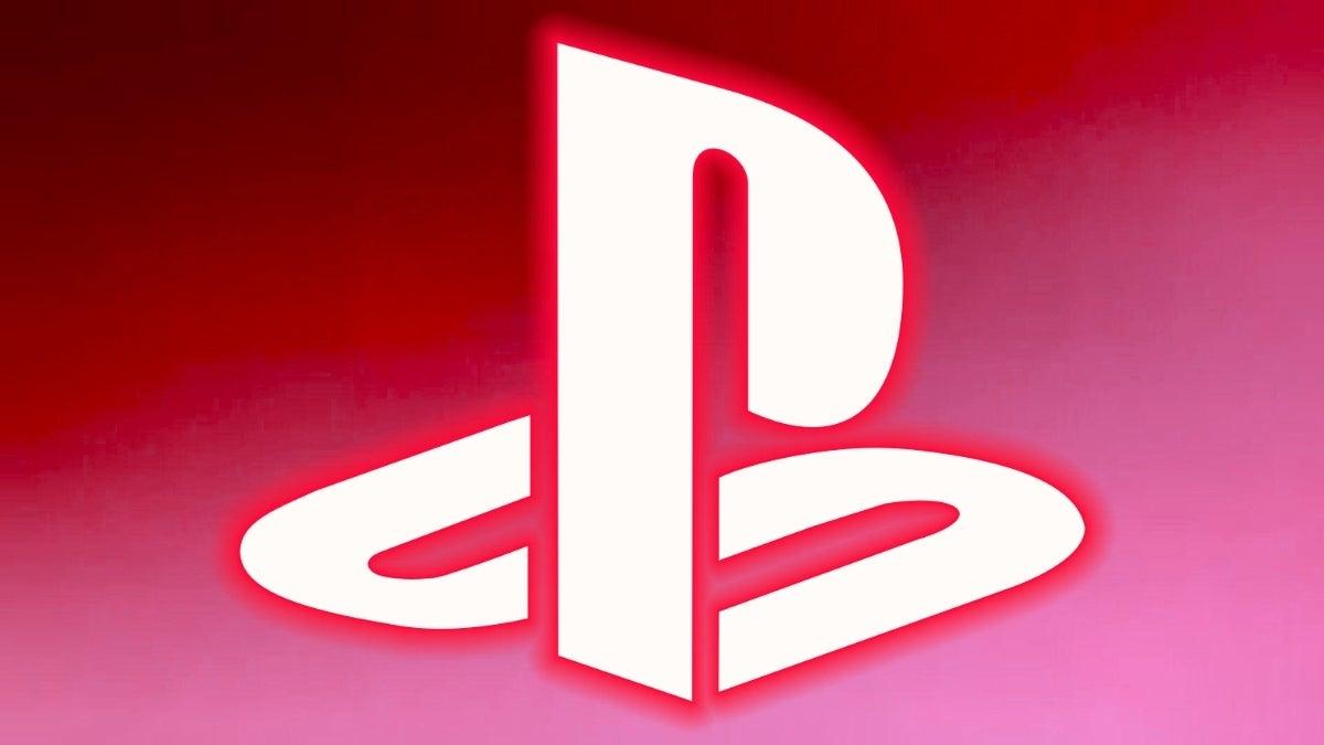 playstation logo red