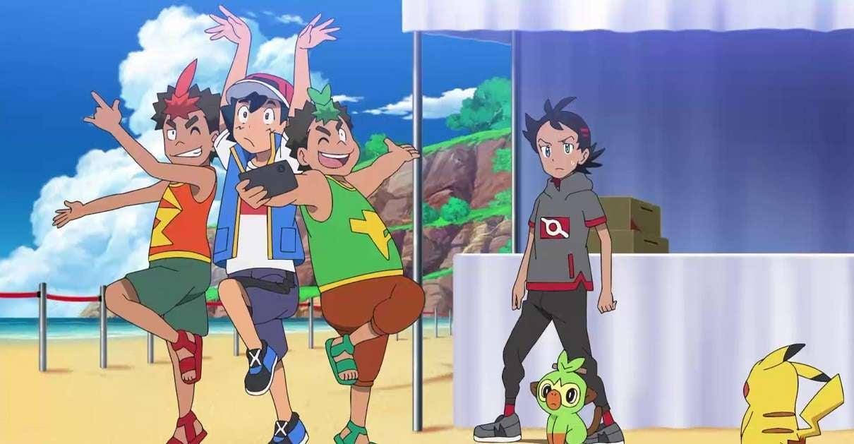 Pokemon Journeys Ash