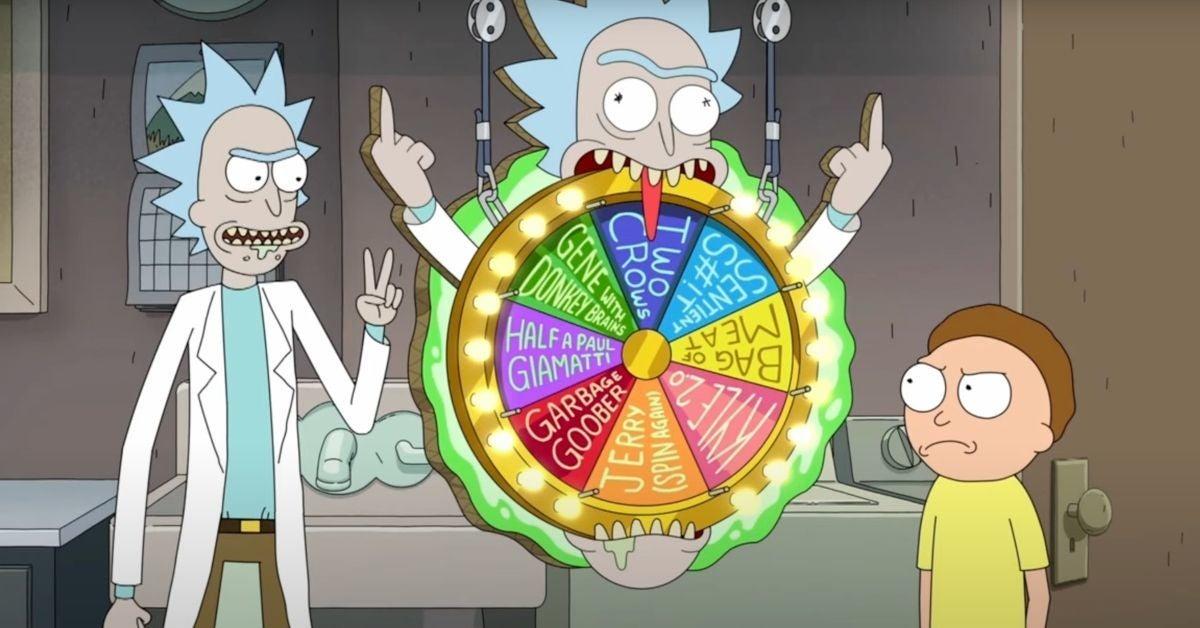 Rick et Morty Saison 5 Finale Premier Look Natation Adulte