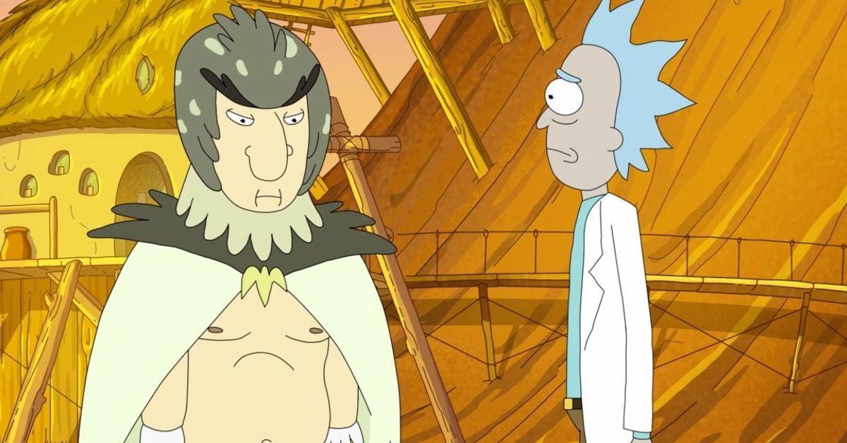 Rick and Morty Season 5 Rick Birdperson