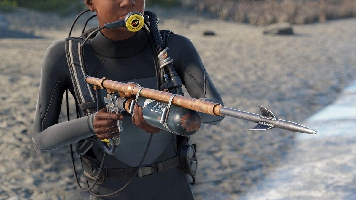 Rust Speargun