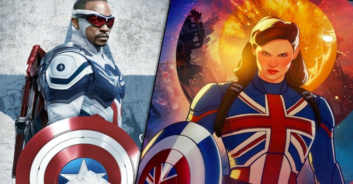 Sam Wilson Captain America What If Captain Carter
