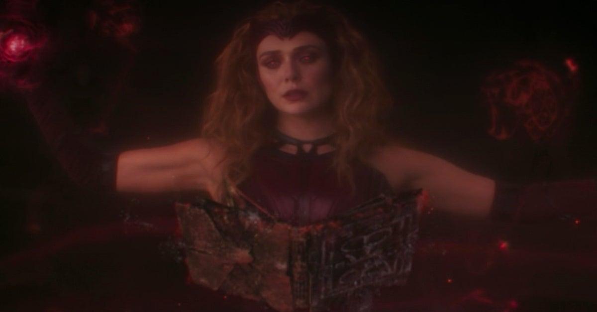 Scarlet Witch Elizabeth Olsen WandaVision
