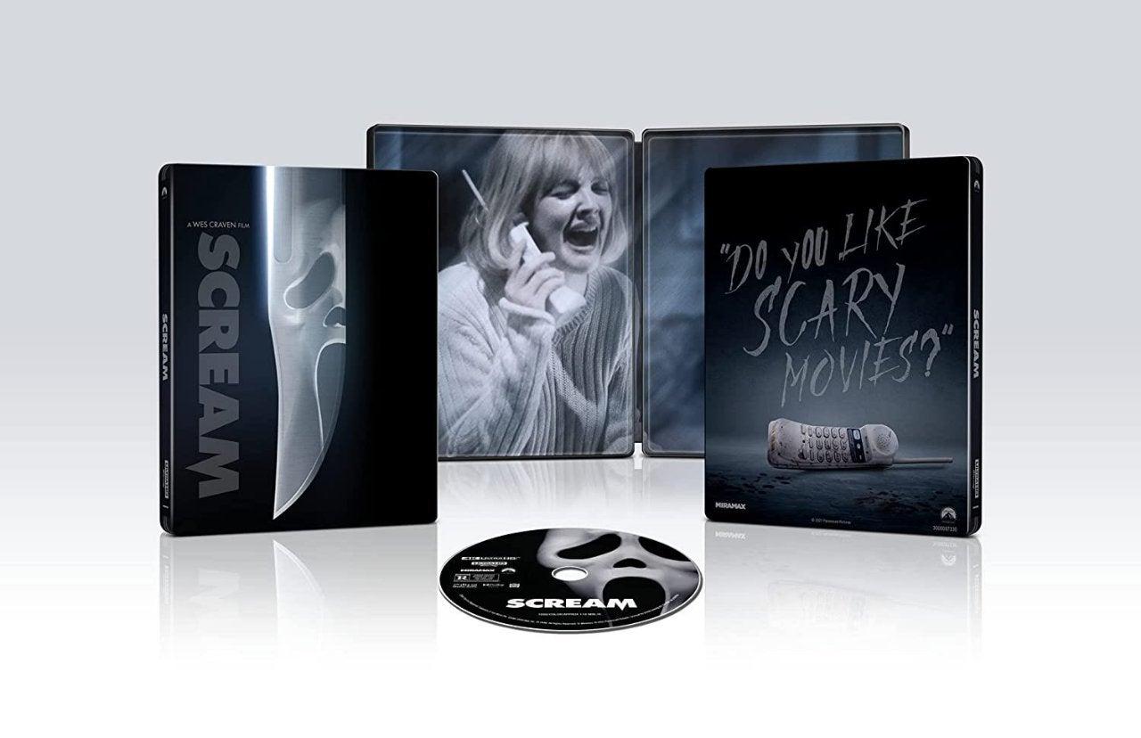 scream 1996 blu ray steelbook expand