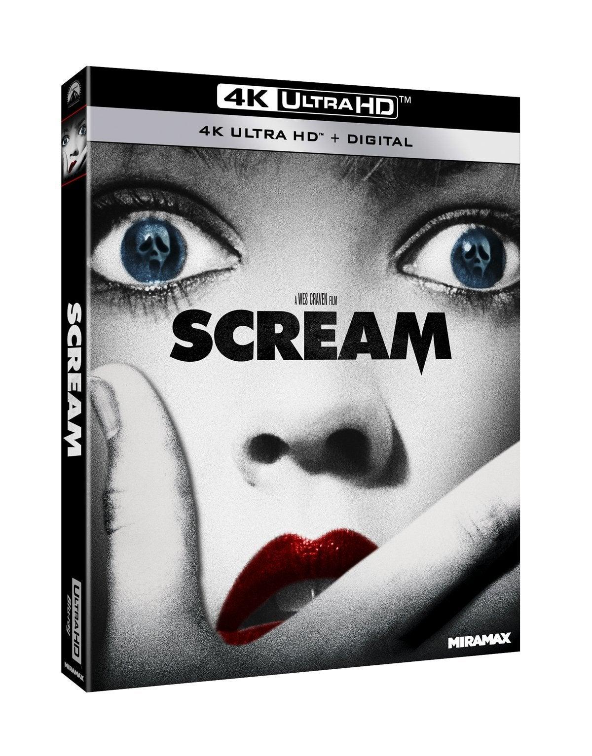 scream movie 4k ultra hd blu ray cover