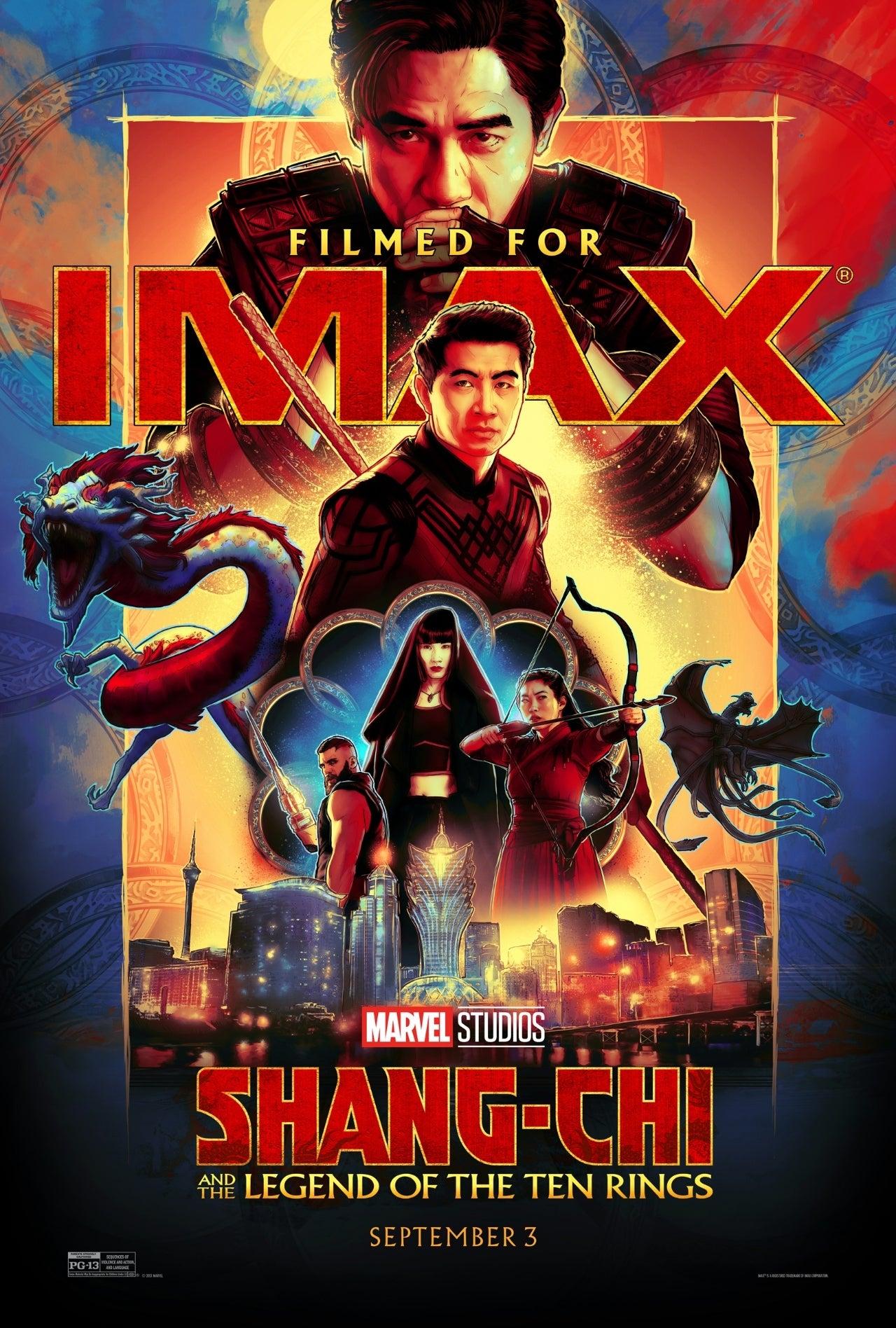 shang-chi imax poster