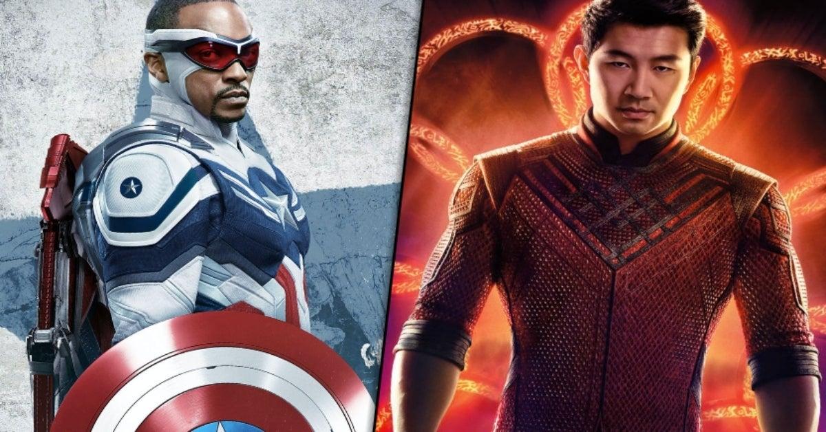 Shang-Chi Simu Liu Anthony Mackie Captain America