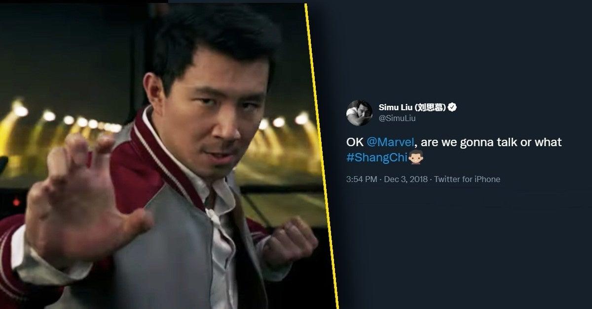 simu liu shang-chi we gonna talk