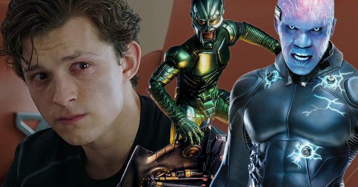 spider man electro green goblin