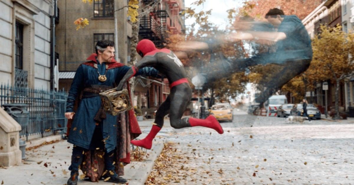Spider-Man No Way Home Doctor Strange