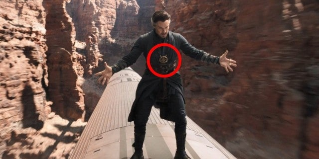 Spider-Man No Way Home Doctor Strange Eye of Agamotto Explained