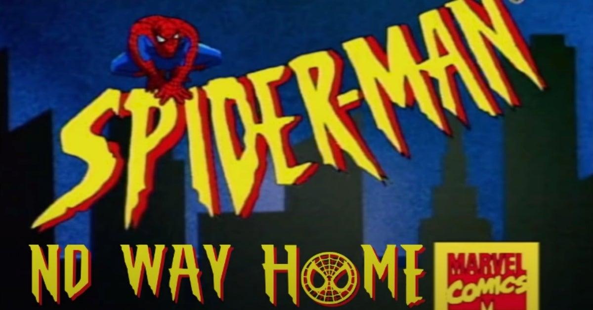 Spider-Man No Way Home trailer animated remake