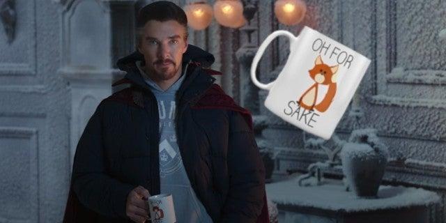 Spider-Man No Way Home Trailer Doctor Strange Coffee Mug NSFW Joke
