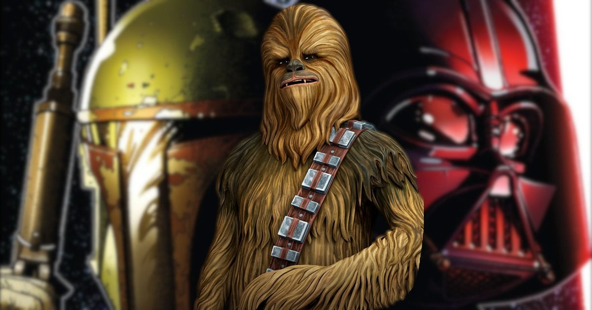 Star Wars Darth Vader vs Qira Chewbacca Boba Fett War Bounty Hunters 3 Spoilers