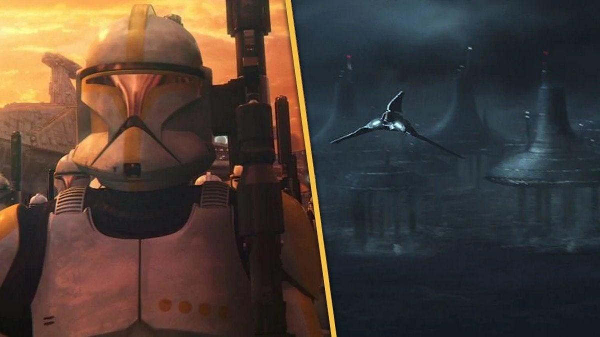 Star Wars The Bad Batch Episode 15 Kamino Cloning