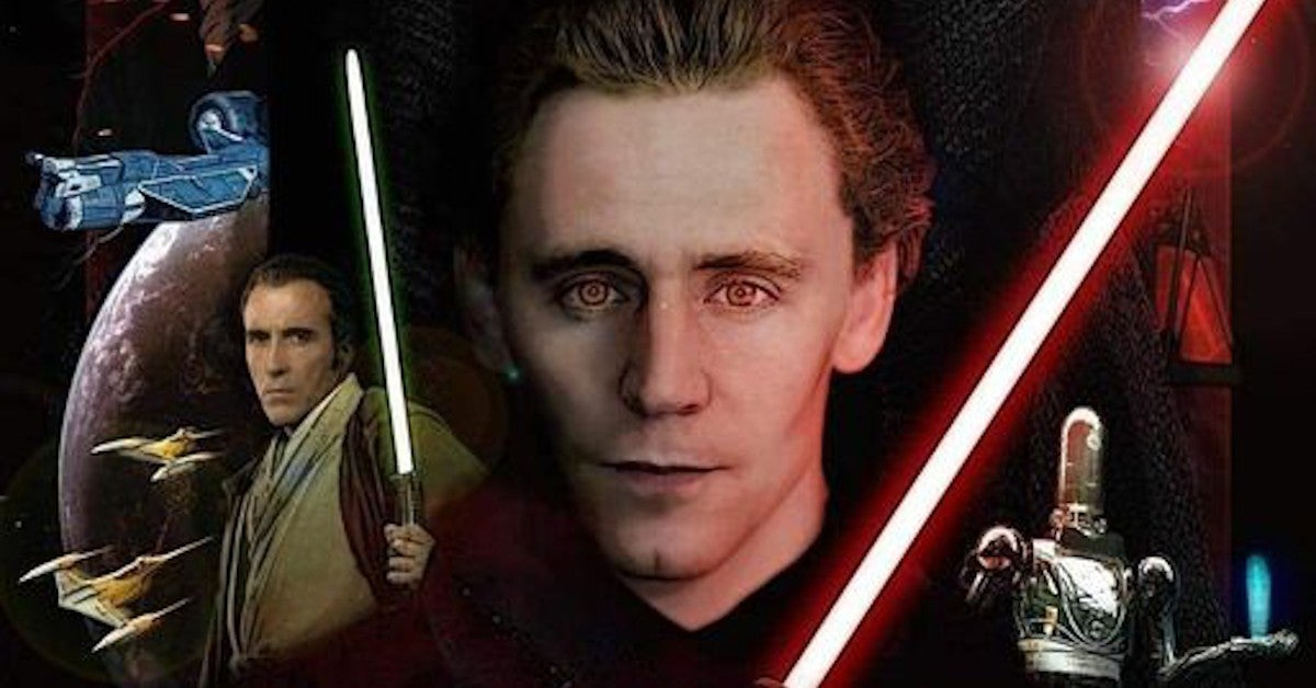 Star Wars Tom Hiddleston Young Palpatine Fan Artwork