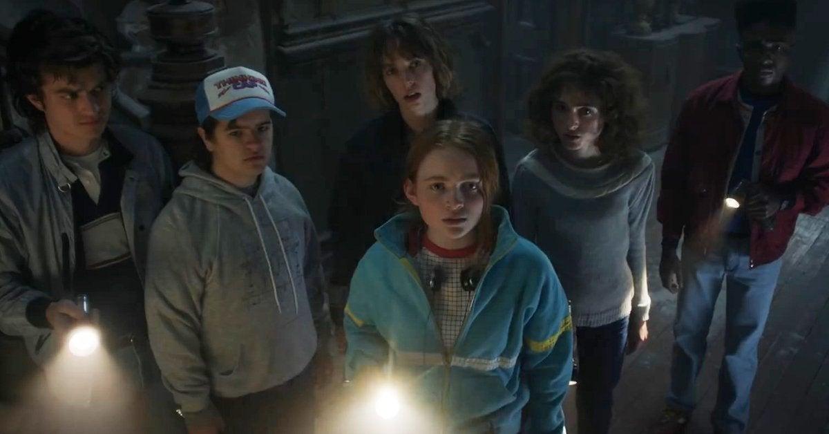 stranger things season 4 group shot
