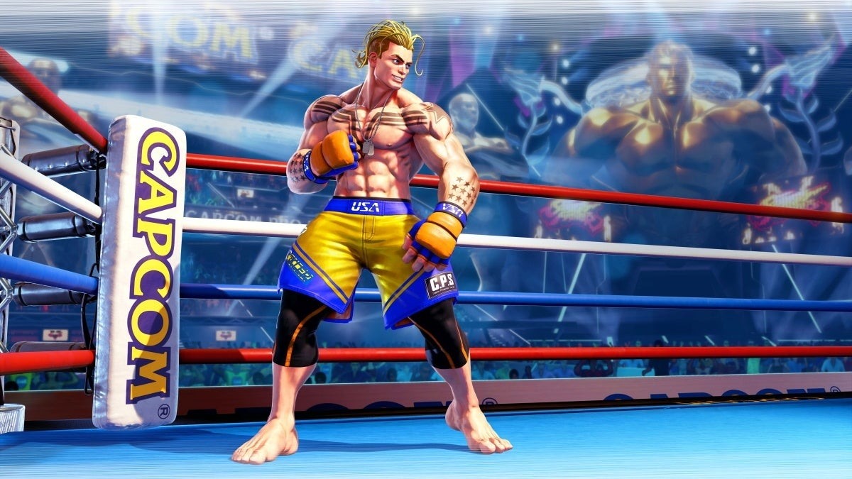 street fighter 5 luke new cropped hed