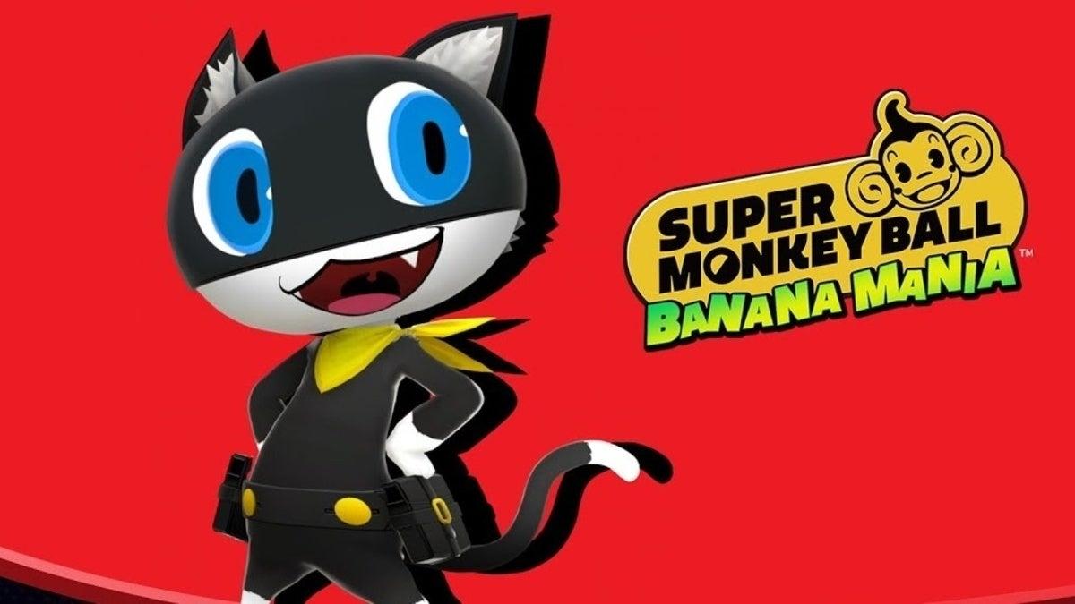 Super Monkey Ball Persona 5 Morgana