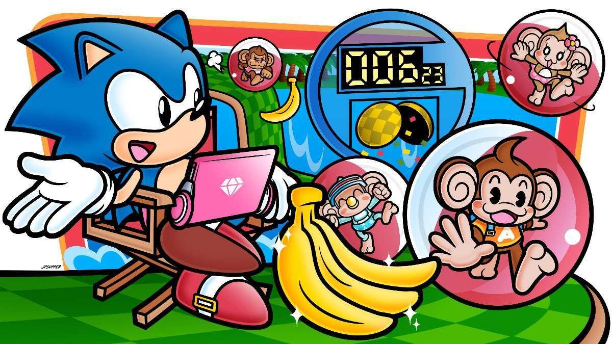 Super Monkey Ball Sonic