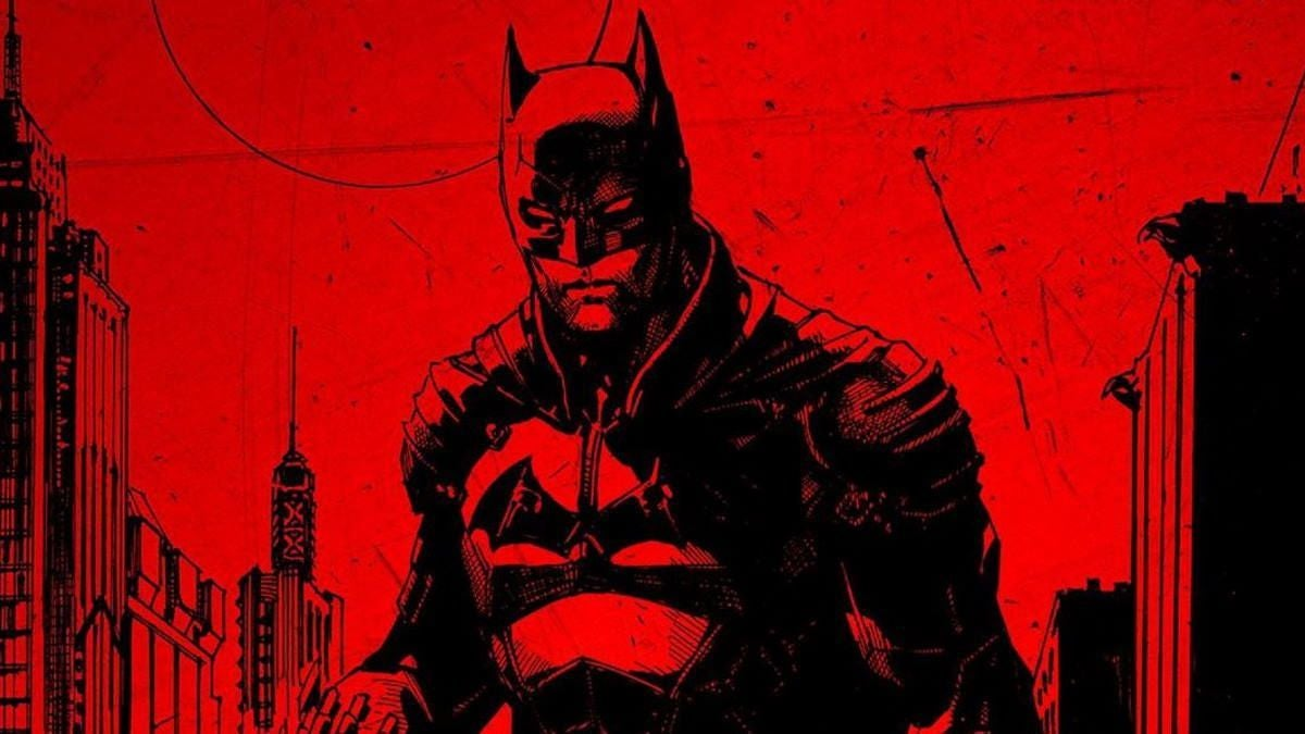 The Batman Black and Red