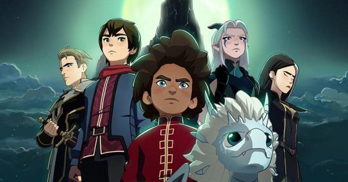 Le Prince Dragon Netflix
