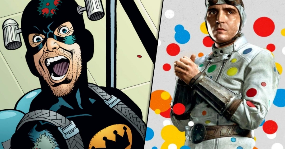 The Suicide Squad Polka-Dot Man Condiment King COMICBOOKCOM
