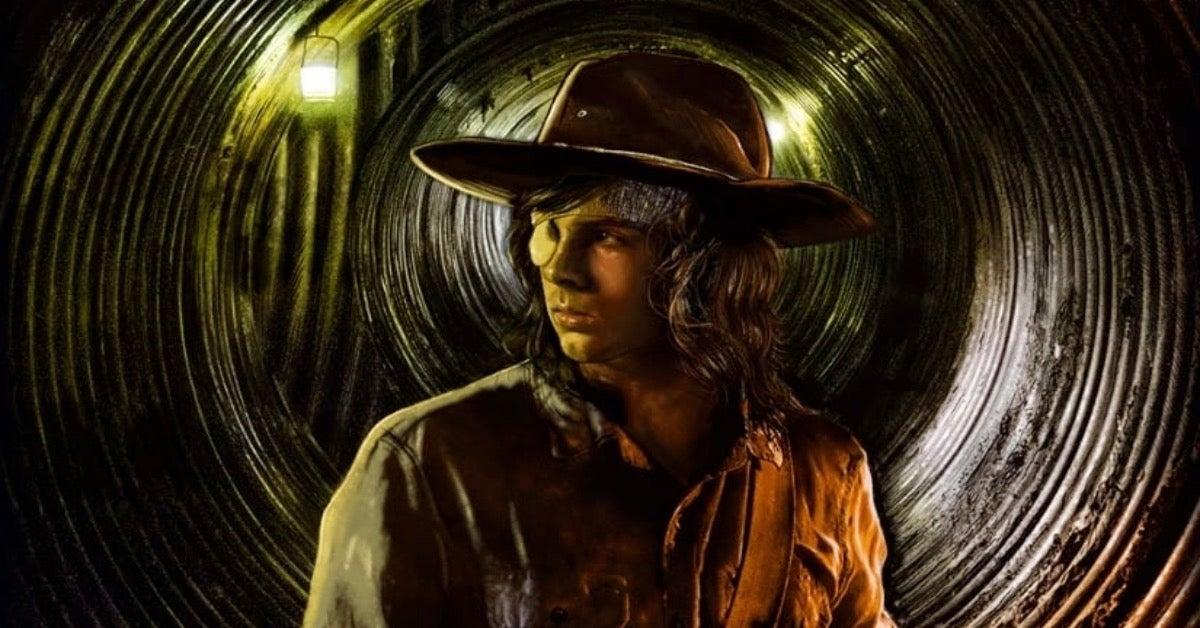 The Walking Dead Carl Grimes Micheline Pitt artwork