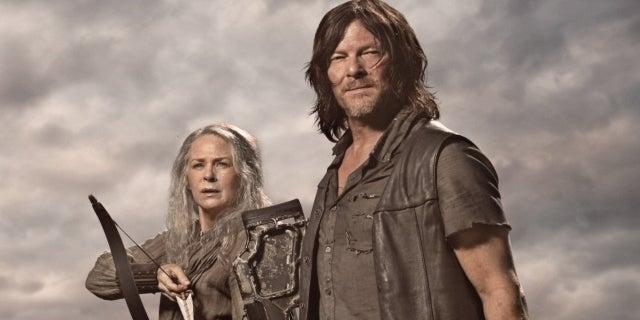 The Walking Dead Daryl Carol Norman Reedus Melissa McBride