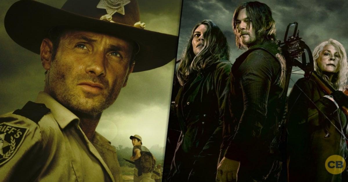 The Walking Dead Final Season 11 Season 1 Rick Grimes comicbookcom