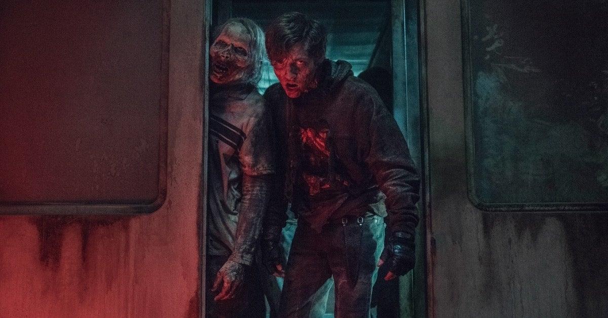 The Walking Dead Gage dies Acheron Part 2